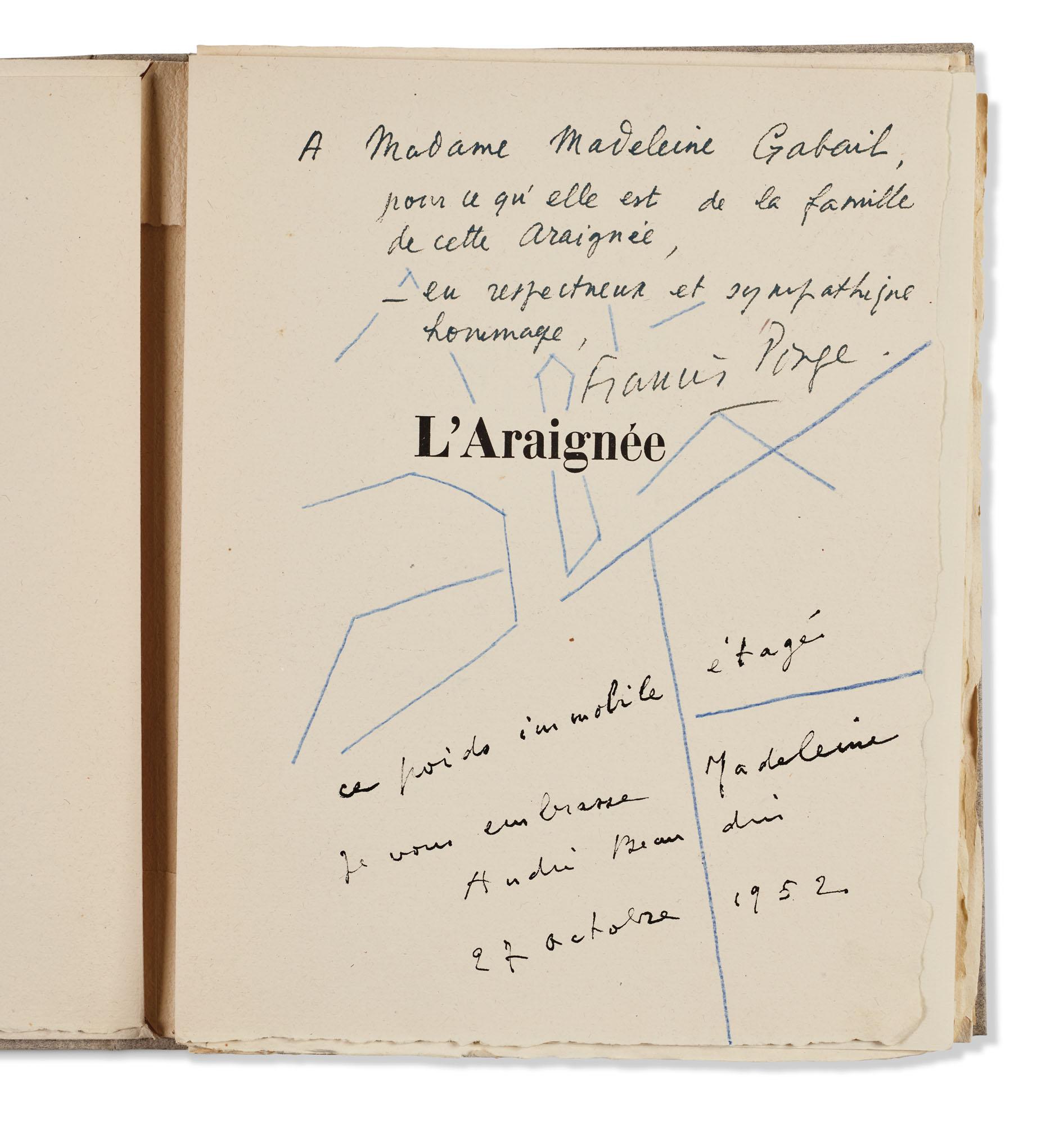 PONGE, Francis, et André BEAUDIN