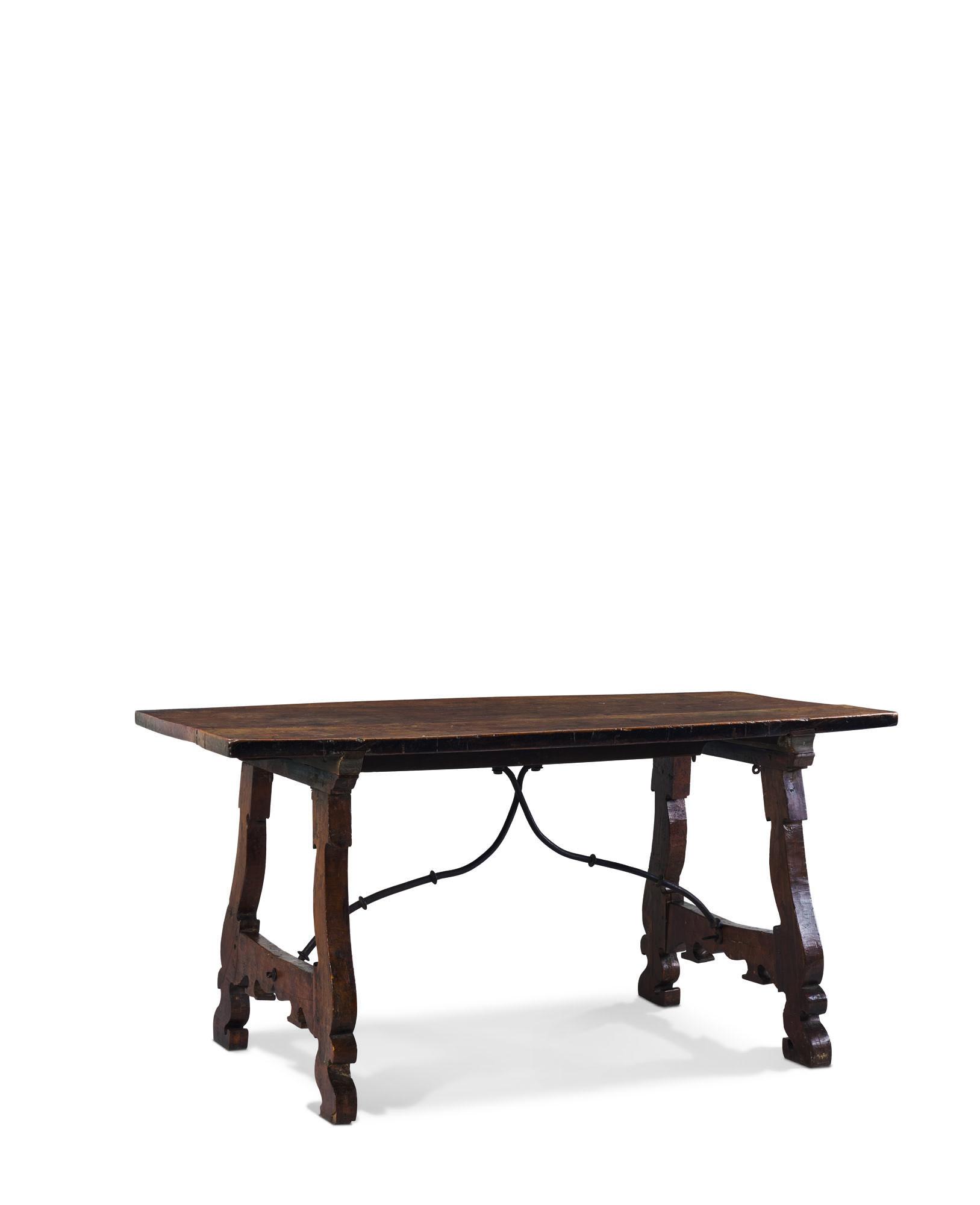 TABLE A VERROU D'EPOQUE BAROQUE