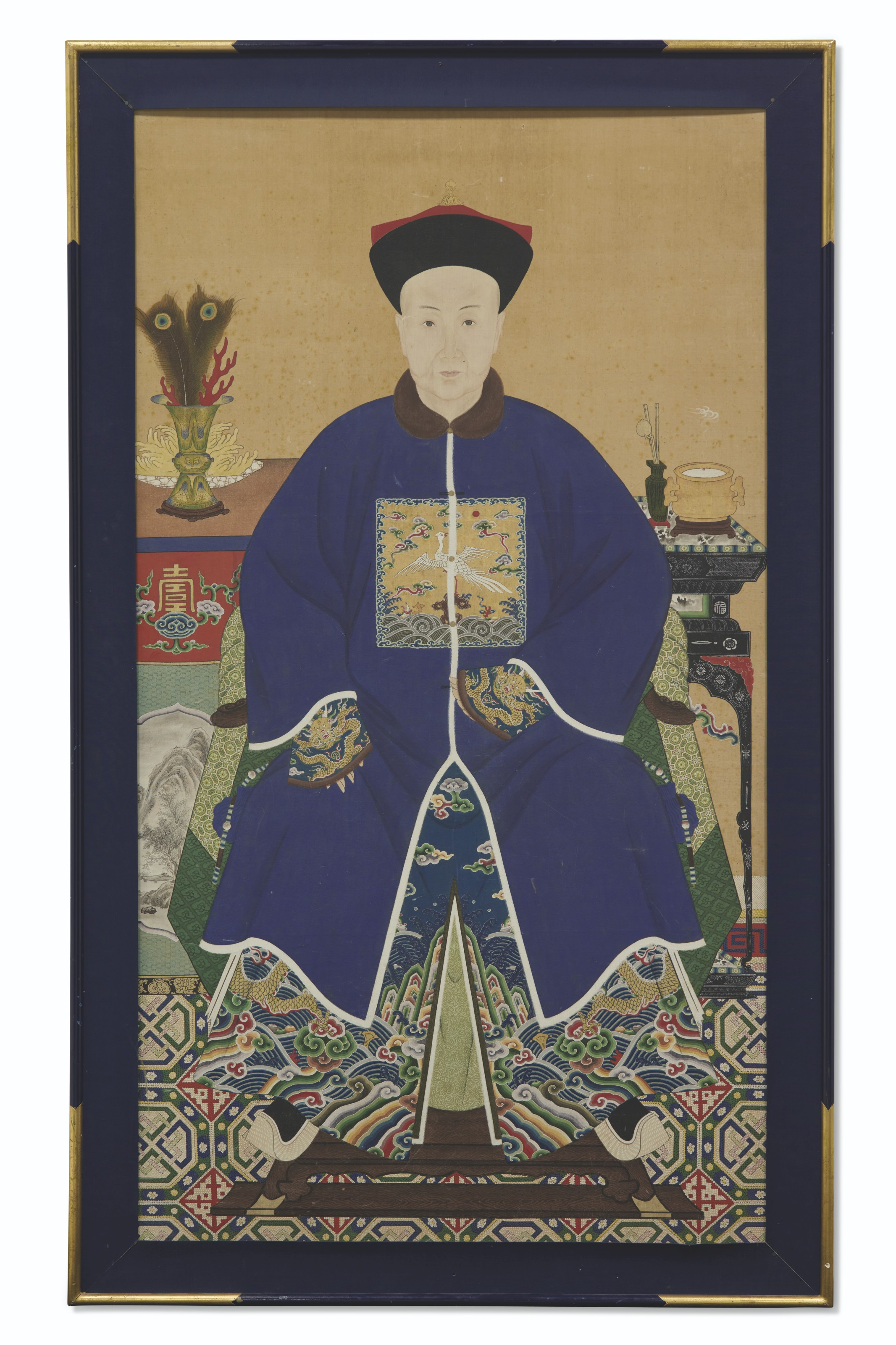 ANONYME (CHINE, FIN DE LA DYNASTIE QING, 1644-1911)
