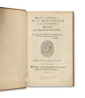 RONSARD, Pierre de (1524 – 1585) Les Amours Ensemble le cinq