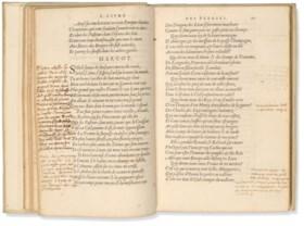 RONSARD, Pierre de (1524-1585) Les Œuvres de P de Ronsard Ge
