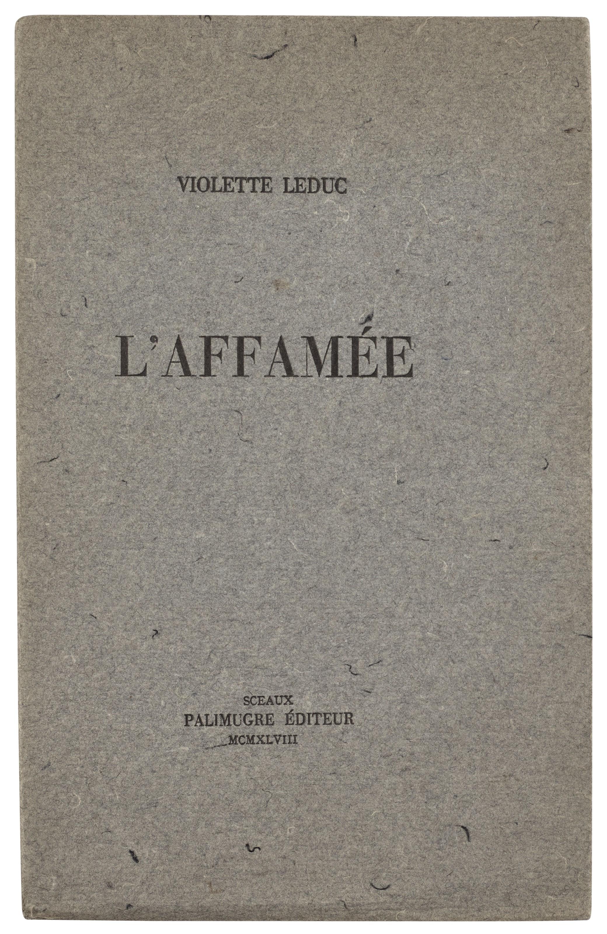 Violette Leduc (Arras 1907–1972 Faucon)