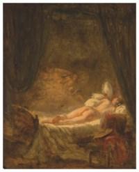 ÉCOLE FRANÇAISE VERS 1780, ENT