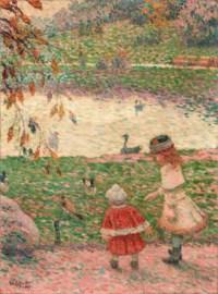 Les Enfants au Parc Montsouris