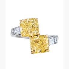 COLOURED DIAMOND AND DIAMOND R