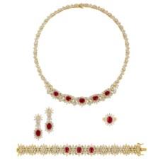 Ruby And Diamond Necklace, Bra