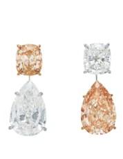 Colored diamond and diamond ea