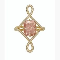 COLORED DIAMOND AND DIAMOND RI