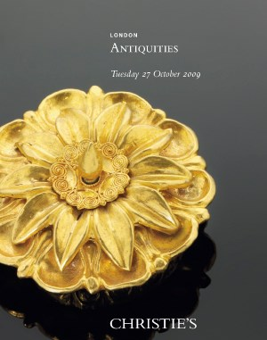 Antiquities auction at Christies