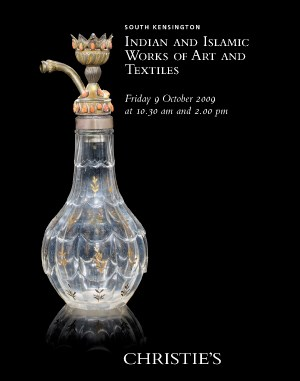 Indian & Islamic Works of Art  auction at Christies