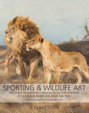Sporting & Wildlife Art, Inclu auction at Christies