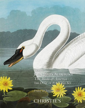 John James Audubon's The Birds auction at Christies