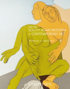 South Asian Modern and Contemp auction at Christies
