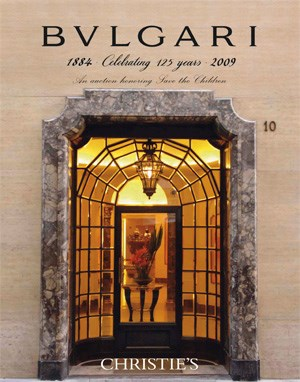 BVLGARI Celebrating 125 Years: auction at Christies