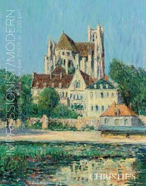 Impressionist & Modern Art auction at Christies
