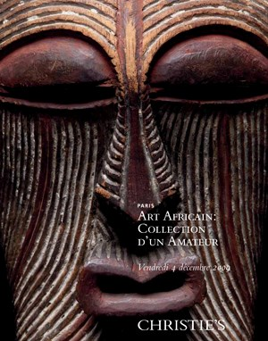Art Africain : Collection d'un auction at Christies
