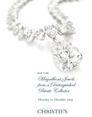 Magnificent Jewels from a Dist auction at Christies