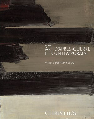 Art d'Après-Guerre et Contempo auction at Christies