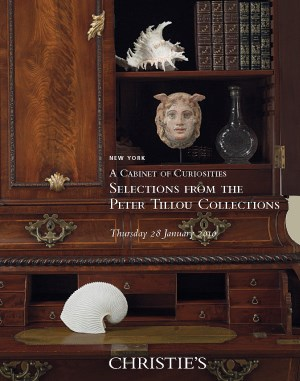 A Cabinet of Curiosities Selec auction at Christies