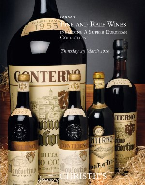 Fine & Rare Wines Including a  auction at Christies