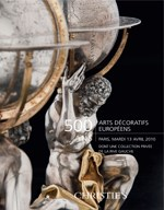 500 Ans - Arts Décoratifs Euro auction at Christies