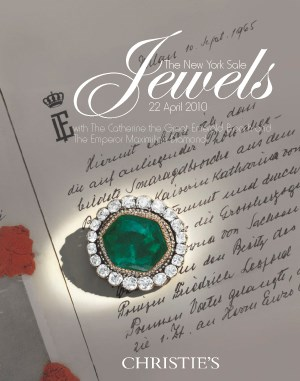 Jewels: The New York Sale, wit auction at Christies
