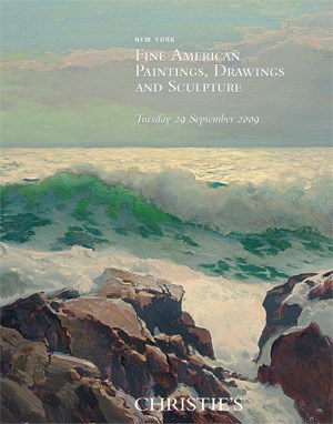 American Paintings  auction at Christies