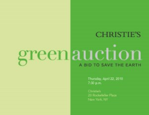 Christie's Green Auction: A Bi auction at Christies