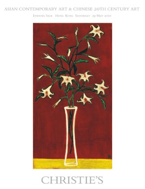 Asian Contemporary Art and Chi auction at Christies