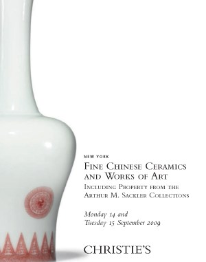 Fine Chinese Ceramics & Works  auction at Christies