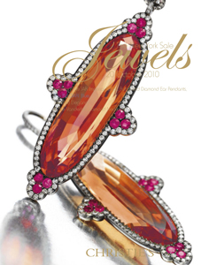 Jewels The New York Sale  Including the JAR Imperial Topaz, Ruby and Diamond Ear Pendants, The Bulgari Blue, Jeweled Elegance & the Vanderbilt Diamond Necklace
