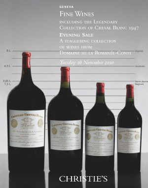 Fine Wine auction at Christies