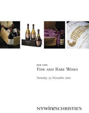 Fine and Rare Wines auction at Christies