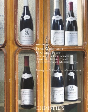 Fine Wine and Vintage Port auction at Christies