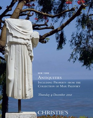 Antiquities Including Property auction at Christies