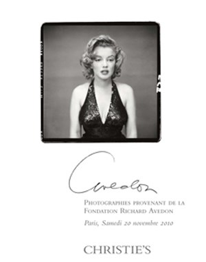 Avedon : Photographies provena auction at Christies
