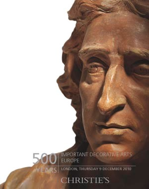 500 Years: Important Decorativ auction at Christies