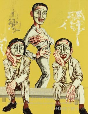 Asian Contemporary Art & Chine auction at Christies