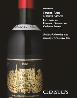 Finest And Rarest Wine Part I Auction At Christies