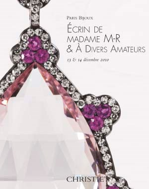 Paris Bijoux, Ecrin de Madame  auction at Christies