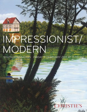 Impressionist & Modern auction at Christies
