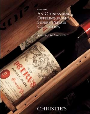 Fine and Rare Wines - An Outst auction at Christies