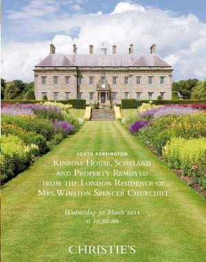 Kinross House, Scotland And Pr auction at Christies