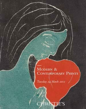 Modern & Contemporary Prints auction at Christies