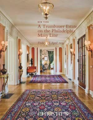 A Trumbauer Estate on The Phil auction at Christies
