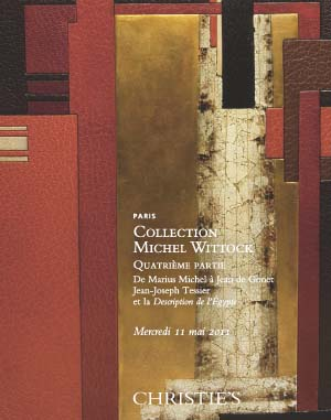 Collection Michel Wittock quatrième partie - De Marius-Michel à Jean de Gonet  Jean-Joseph Tessier et La Description de lÉgypte