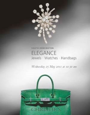 Elegance: Jewels, Watches & Ha auction at Christies
