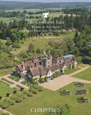 The Cowdray Sale Works of Art from Cowdray Park and Dunecht House,  At Cowdray Park, West Sussex