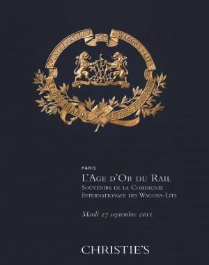 L'âge d'or du rail - Souvenirs auction at Christies