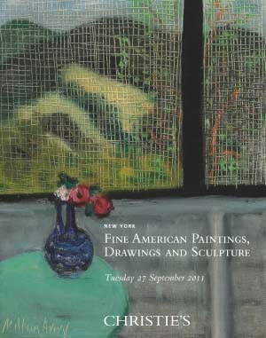 Fine American Paintings, Drawi auction at Christies